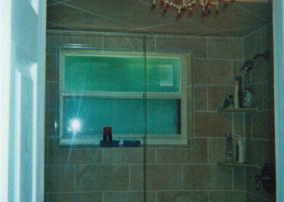 Bathroom #1 Shower (Glass Doors)