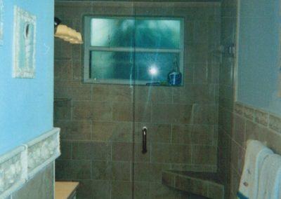 Bathroom #2, Glass-door Shower