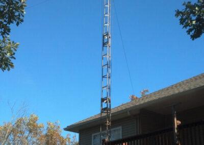 Tower with Hexbeam