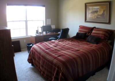 Guest Bedroom and Ham Shack